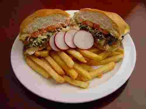 24. Torta With French Fries