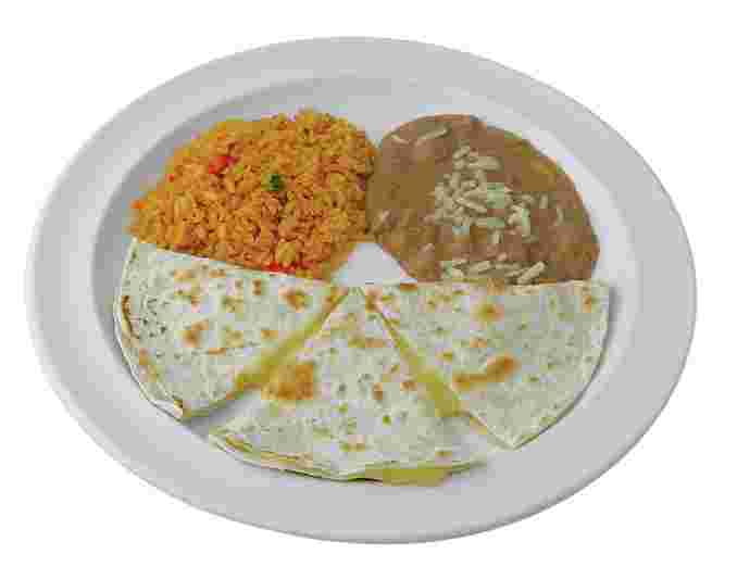 Jr. Quesadilla Plate