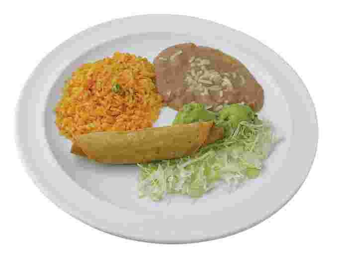Taquitos Jr. Plate