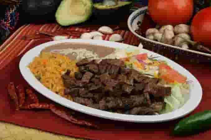 40. Carne Asada Plate