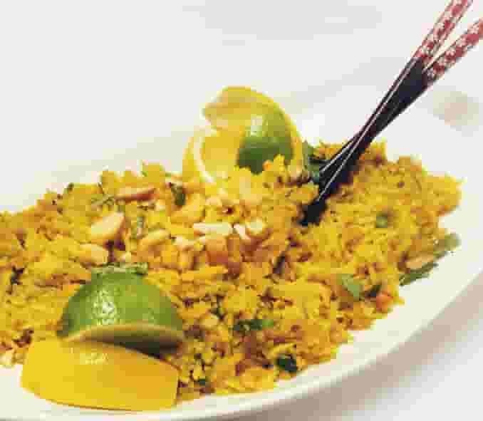 Lemon Turmeric Fried Rice