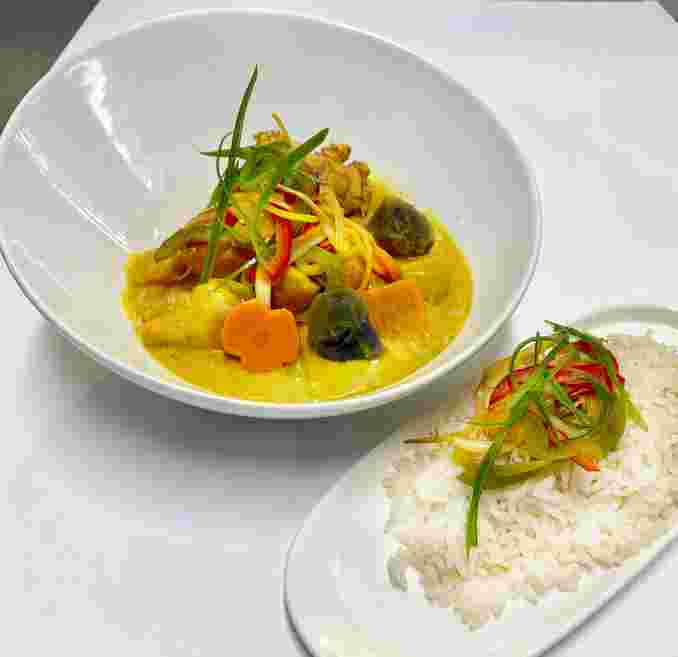 Asian Chicken Curry
