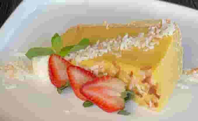 Mango Lemongrass Pie