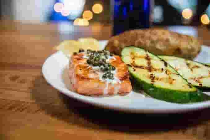 Grilled Salmon Filet