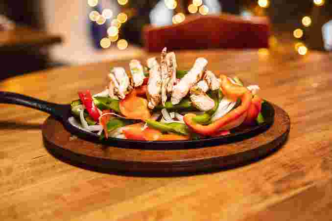 Fajita's (Chicken, Shrimp or Beef)