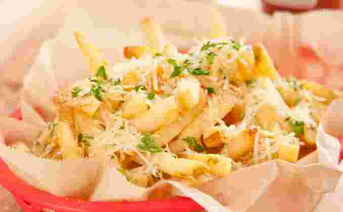 Truffle Parmesan Garlic Fries