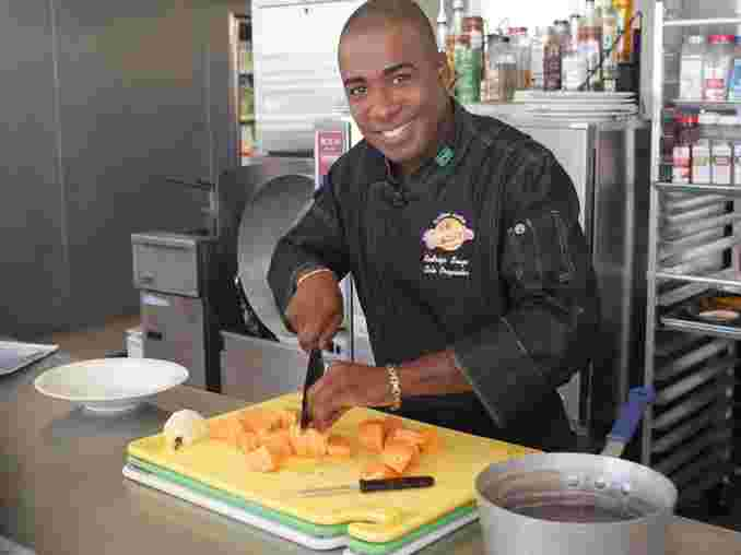 Rodrigo Comeketo, head chef