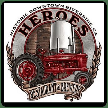 Heroes Restaurant & Brewery Riverside Logo