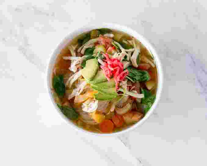 Health Nut Noodle Soup