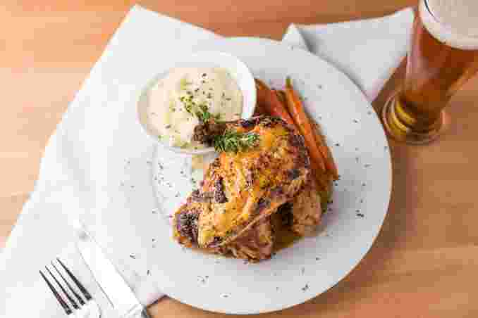 Rotisserie Chicken with Garlic, Lemon & Herbs