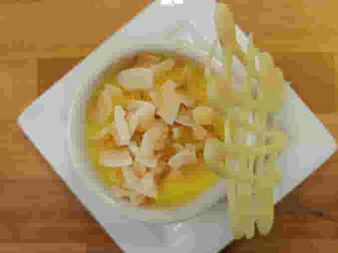 Passionfruit Creme Brulee