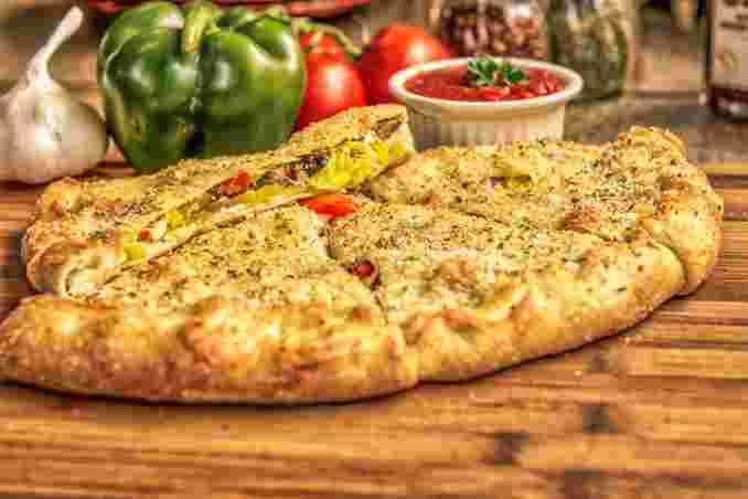 Veggie Lovers Calzone