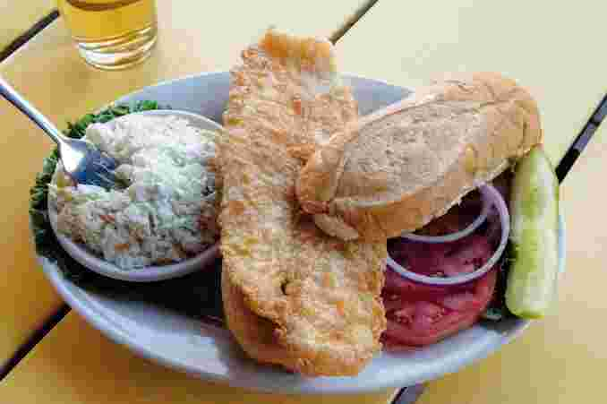 Paradise Fish Sandwich