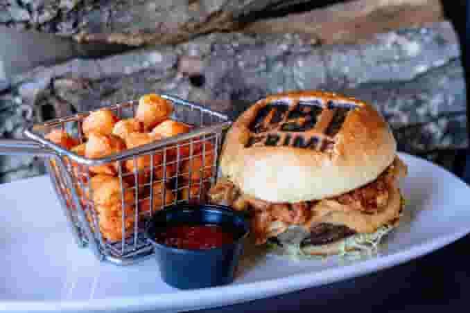 OBT* Bourbon Barbeque Burger