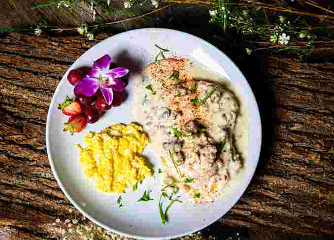 House Made Biscuits & Gravy