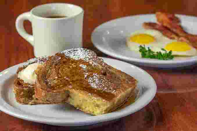 Cinnamon Swirl French Toast Combo