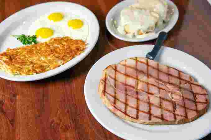 Ham (Over a Full Pound!) & Eggs