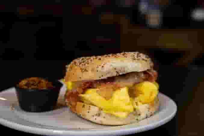 Bagel Breafast Sandwich
