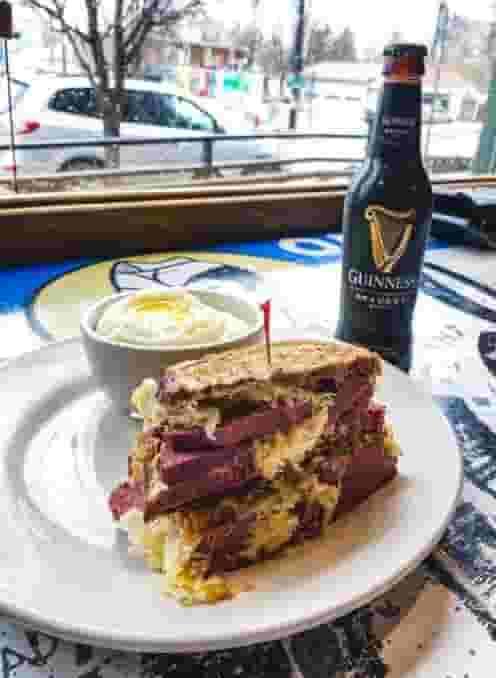 Mile High Guinness Reuben