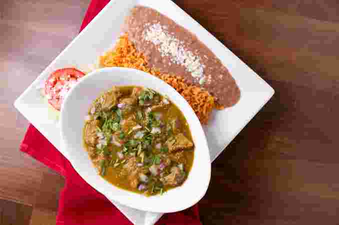 Chile Verde Plate