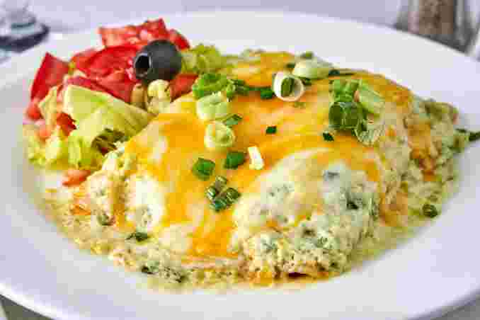 Spinach Enchilada