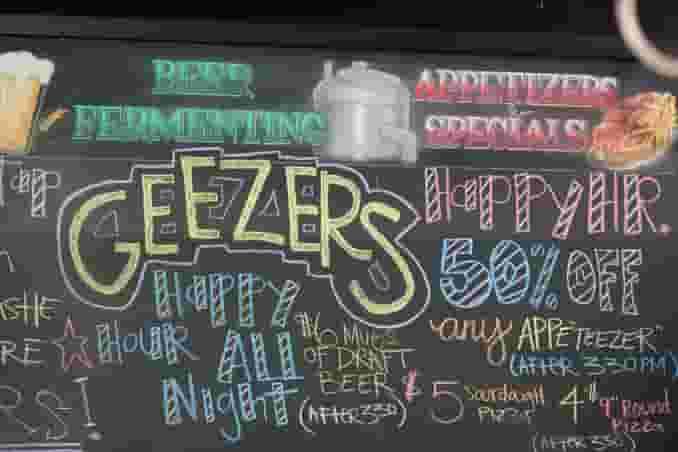 Geezers Indoors