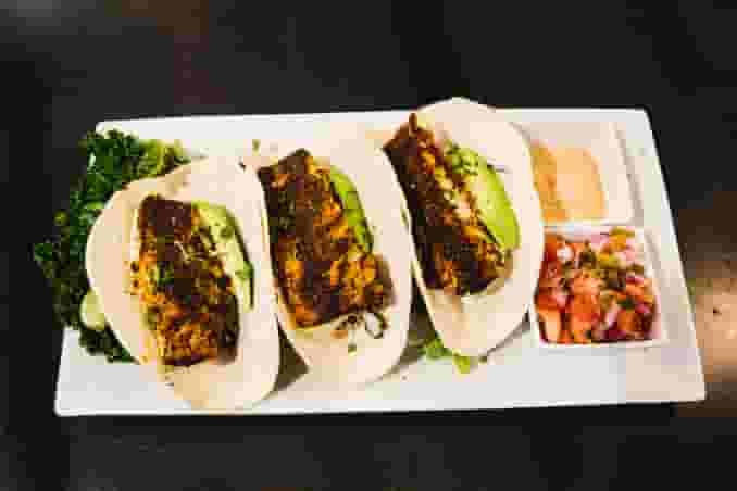 Blackened or Fried Haddock Tacos