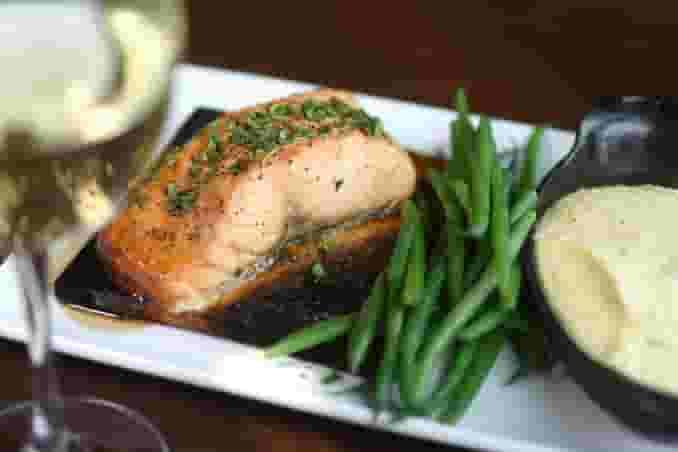 Cedar Plank Roasted 60-South Salmon
