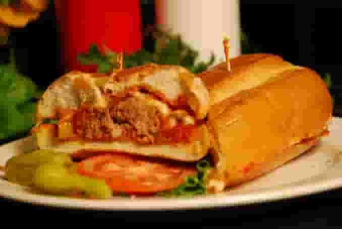 Mark & Doc's Meatball Sandwich