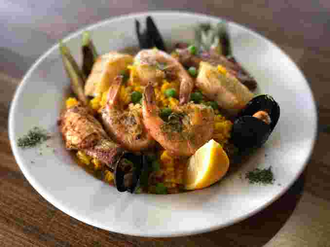 Seafood Paella (Now Served Daily)