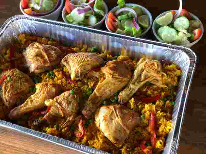 Arroz con Pollo Family Meal (Serves 4)