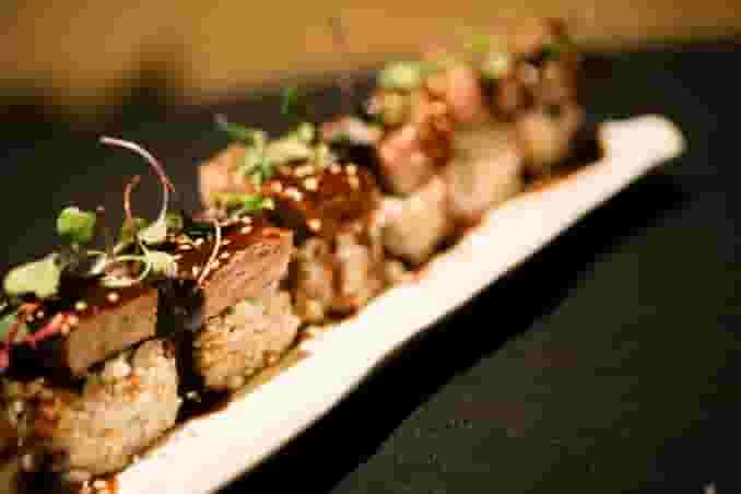 Steak & Shishitos