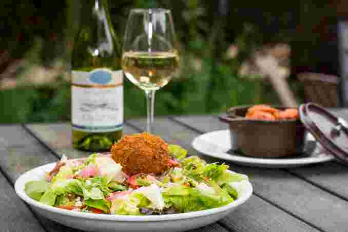 Tuck's Cobb Salad With Scotch Egg