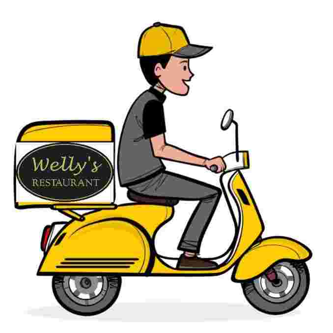 Our own staff is making deliveries, so you can rest assured that all of Welly's rigorous safety protocols will be followed by your delivery person.