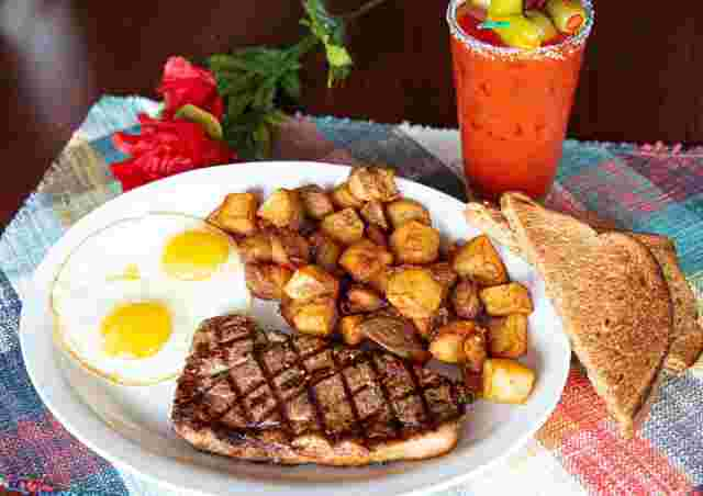 Steak & Eggs*