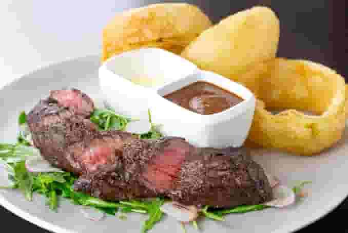 8 oz. Beef Hangar Steak