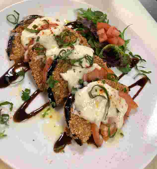 Eggplant Caprese