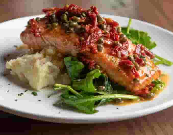 Salmon Picatta*