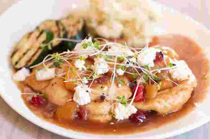 Apple and Cranberry Chicken