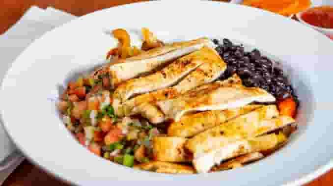 Grilled Chicken or Steak Bowl