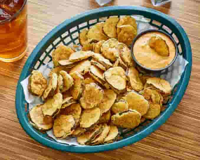 Our Famous Cajun Fried Pickles