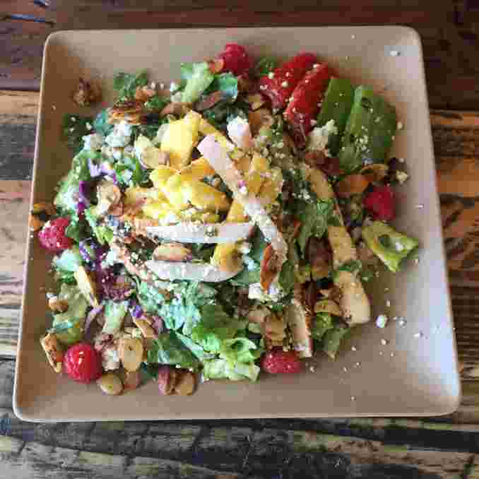Candied Almond Salad