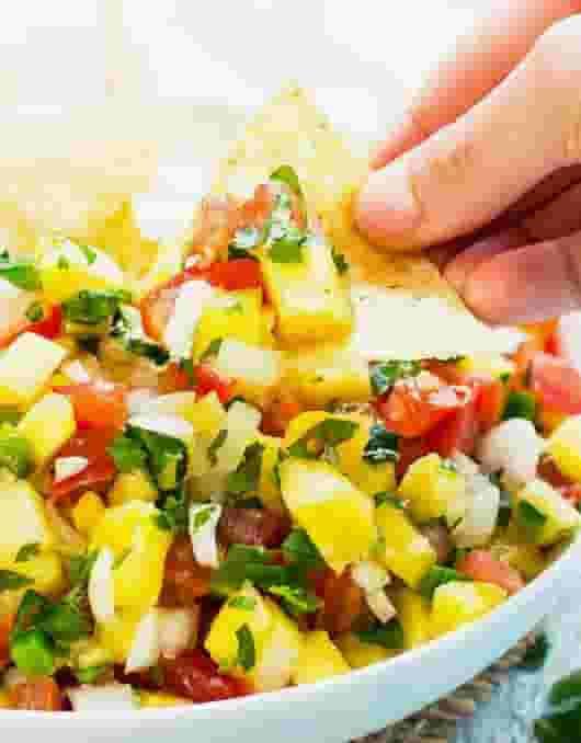Pineapple or Mango Salsa