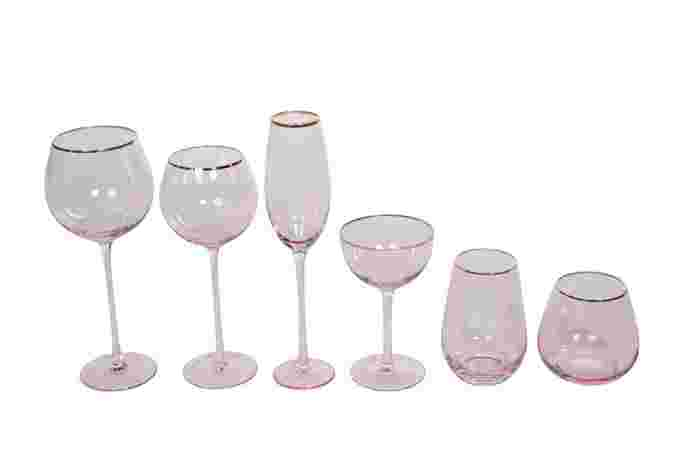 Rose Glass Set