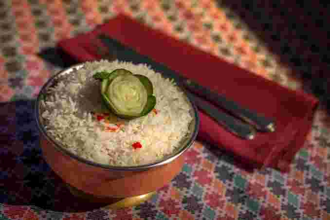 Bhat (White Basmati Rice)