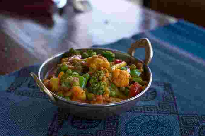 Sabzie Sangam Curry