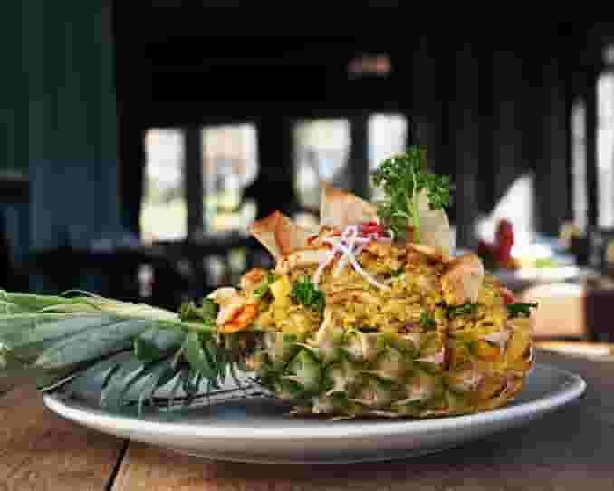 pineapple entree