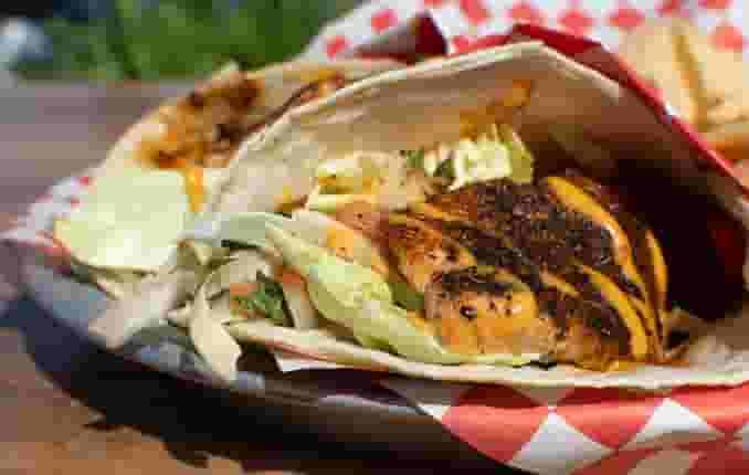 Wild Salmon Tacos