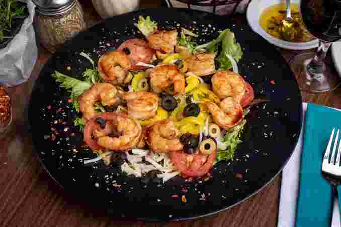 Teryaki Shrimp Salad