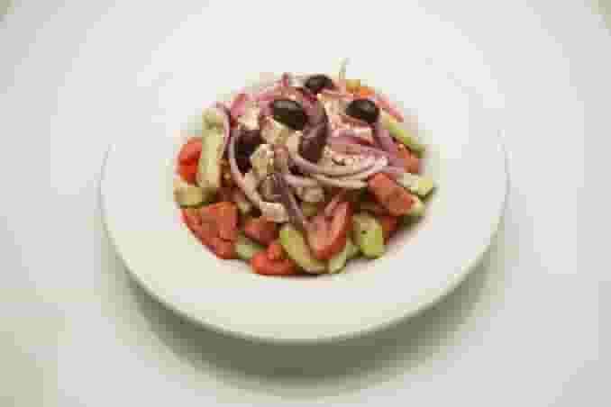 Horiatiki (Village) Greek Salad